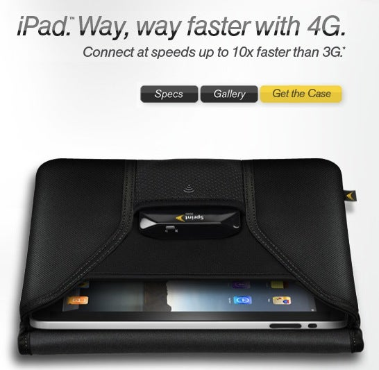 So There's a Sprint WiMax iPad... Case