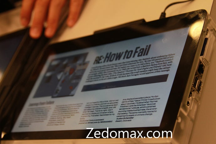 Flash-Friendly Android Multi-Touch Tablet Prototype Spotted