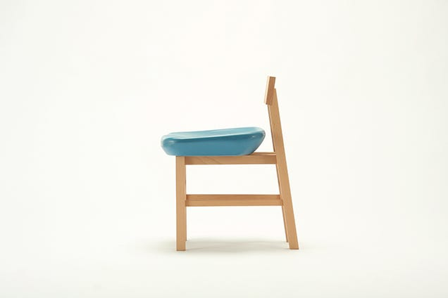Seats From Tokyo's Demolished Olympic Stadium Sold As Minimalist Chairs