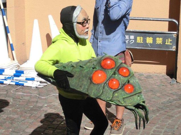 Halloween Doesn't Get Any Scarier than... Hayao Miyazaki?