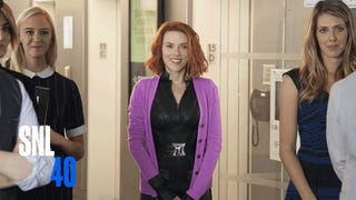 On <i>Saturday Night Live</i>, Black Widow Gets Her Own Rom-Com