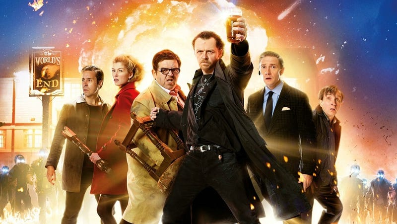 How The World's End rejects 'drunken, misogynistic' manchild films