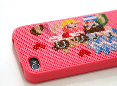 Stitch Your Own Designs Onto This iPhone Case