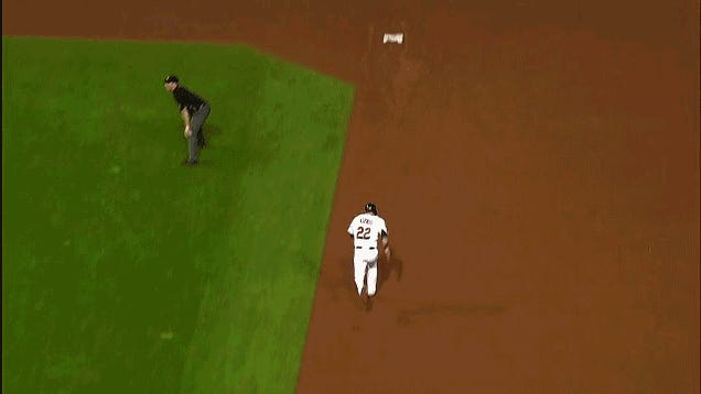 Derek Jeter Tricks Jason Kipnis On Foul Pop; Yankees Turn Double Play