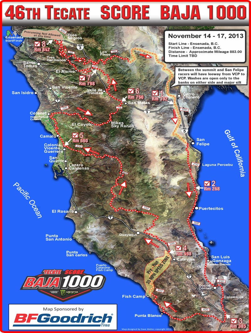 Everything You Need To Know About The 2013 Baja 1000