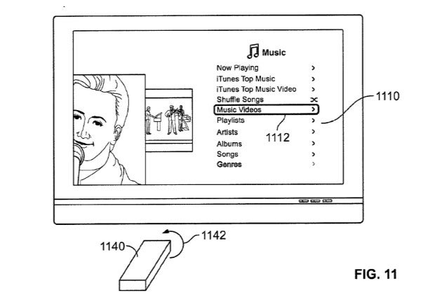 Apple Patent Specs Wii-Like Controller For Apple TV
