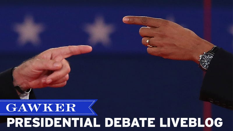 Binders Full of Barbs: The Third Gawker 2012 Presidential Debate Liveblog