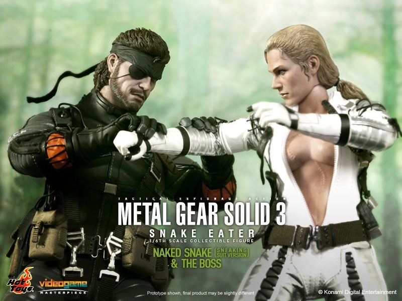 Naked Snake and The Boss Have Never Been So Amazingly Lifelike