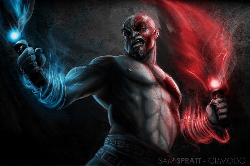 Kratos: God of Move