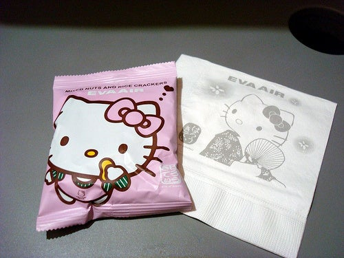 Flying The Friendly Skies On Hello Kitty Air