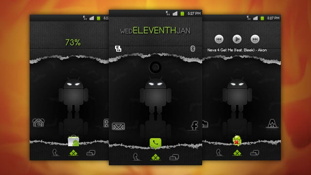The Evil Android Home Screen