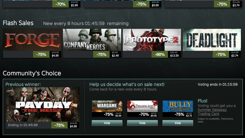 Moneysaver: Steam Sale Day 8 Breakdown