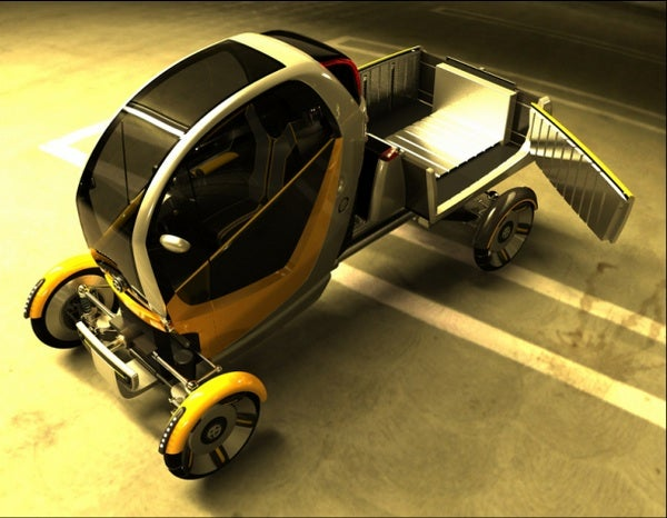 CarGo: Configurable Urban Delivery Vehicle Concept