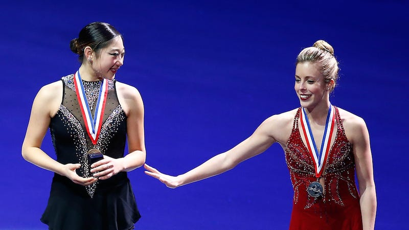 Skater Ashley Wagner Chokes at Nationals, Still Makes Olympic Team