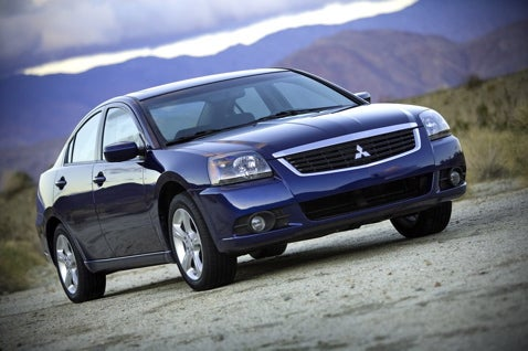 2009 Mitsubishi Galant Revealed Before Chicago Auto Show