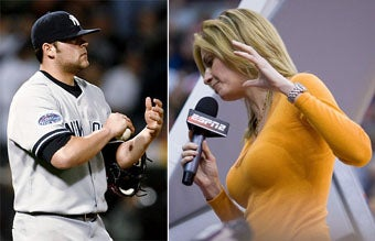Joba Chamberlain Makes Clumsy Pass At Erin Andrews, Becomes Mortal (WITH UPDATE)