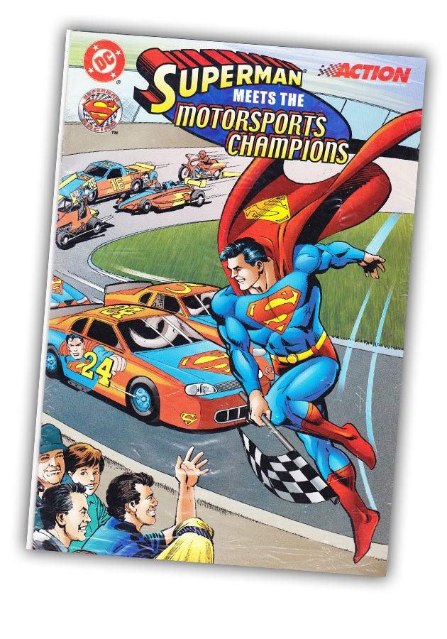 Wait, Superman Once Built A NASCAR Racecar?
