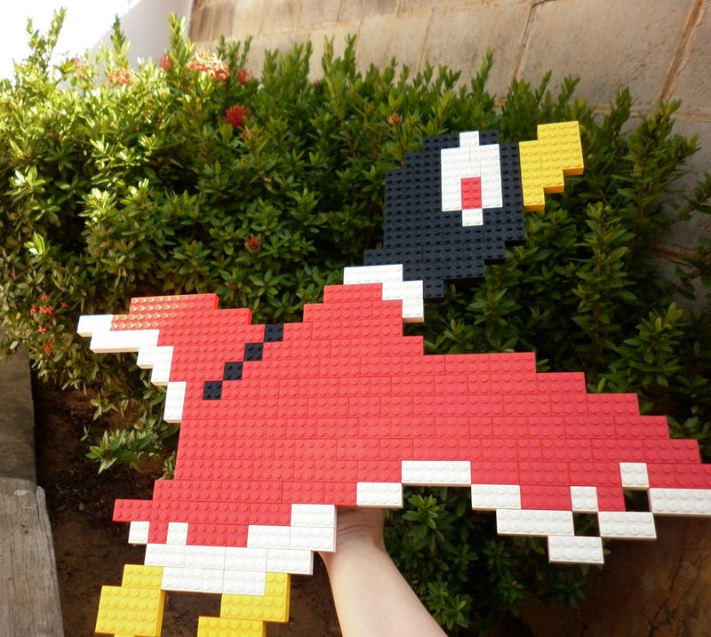 LEGO Is About The Best Way to Make 8-Bit Video Game Art