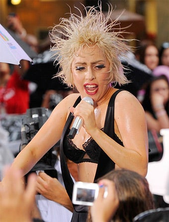 Lady Gaga Helps Harry Reid Push 'Don't Ask, Don't Tell'