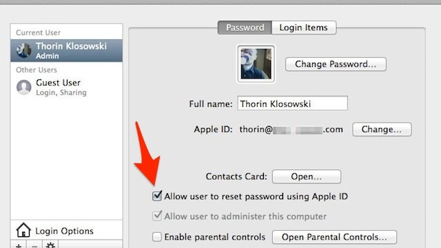 Link Your Apple ID to Your Mac's User Account for Easy Password Resets