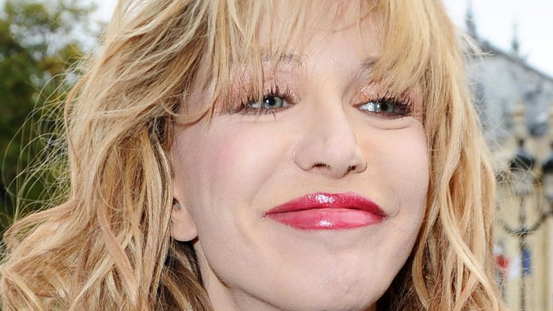 Courtney Love Wants to Snort Kurt Cobain's Ashes