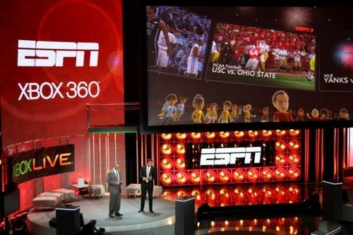 ESPN to Deliver Programming Over Xbox Live