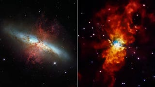 Two Different Satellites Take Two Different Pictures of the Same Galaxy