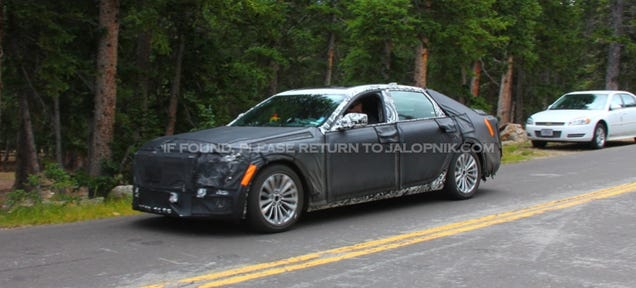 The Cadillac CT6 Will Weigh Less Than The CTS  Get TwinTurbo V6