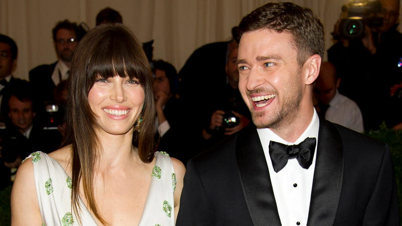 Justin Timberlake and Jessica Biel Are Either Getting Married or Kidnapping Their Families This Weekend