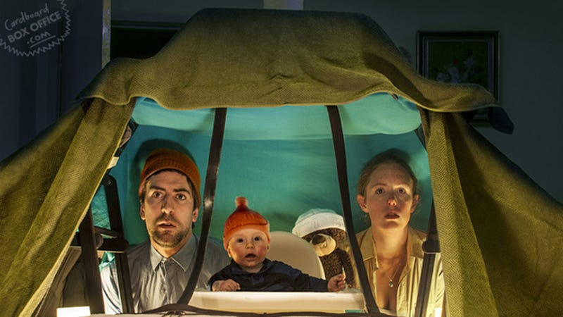 Parents Adorably Recreate Movie Scenes with Their Little Tiny Baby