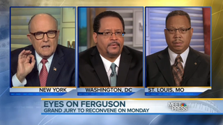 Rudy Giuliani: Cops Exist to Stop Black People From Killing Each Other