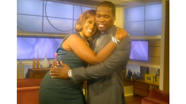 50 Cent Declares His Love For Gayle King, Then 'Marries' Her