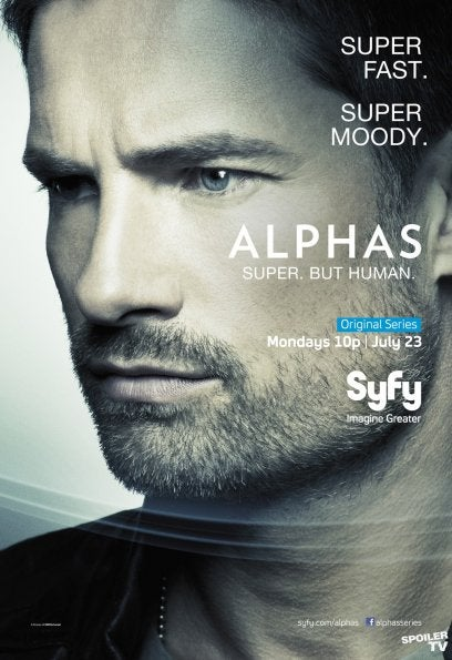 Alphas Character Posters