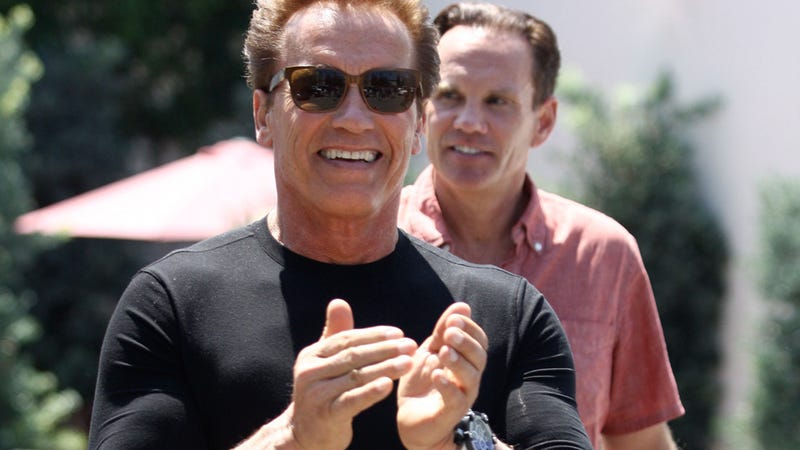 Arnold Schwarzenegger and Maria Shriver Have Birthday Hang-Out