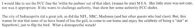 Here Are Some Angry Letters People Sent To The FCC After M.I.A. Flipped Off The Super Bowl