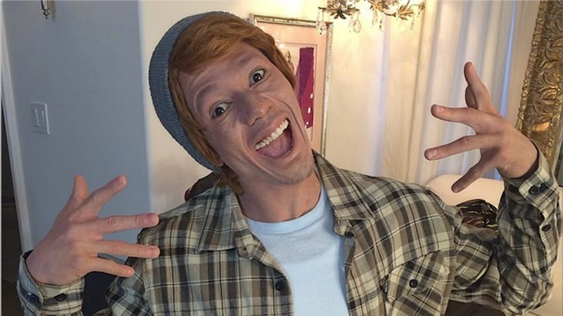 Welp, Here's Nick Cannon Doing Whiteface