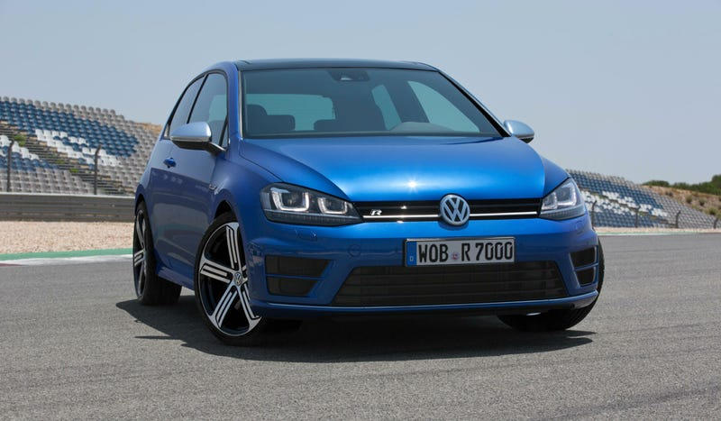 The New VW Golf R Is 296 Horsepower Of Hot Hatch Anger
