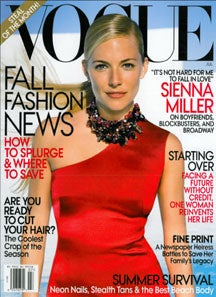 Very Vogue Recession: AKA, The Terrible War Against Rich White Women