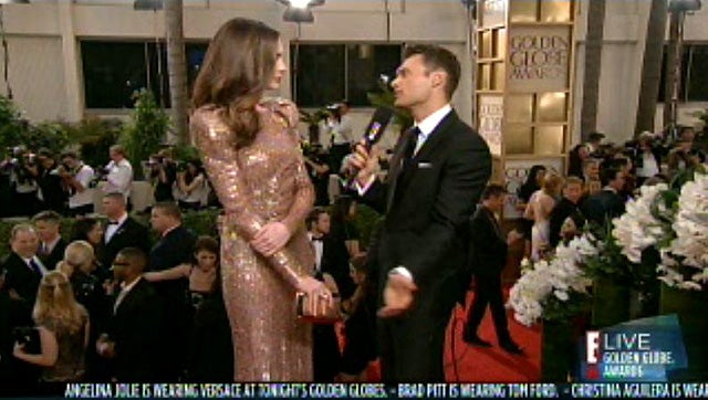 Live Blogging E!'s Golden Globes Red Carpet
