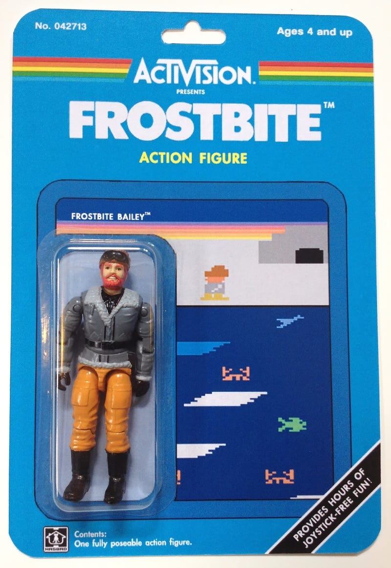 The Activision Action Figures The Atari Age Deserved