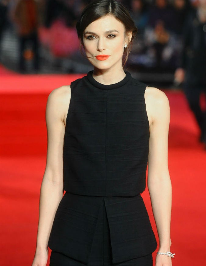 Keira Knightley Is Scary Gorgeous In Basic Black