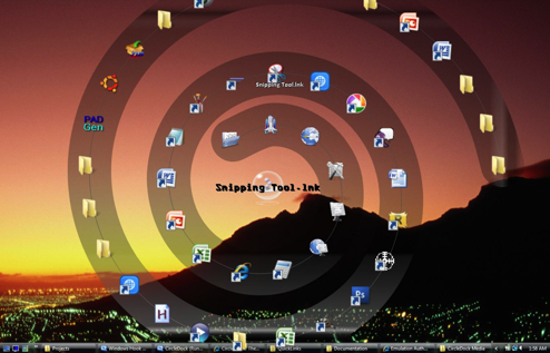 CircleDock Surrounds Your Mouse with Files, Folders, and Shortcuts