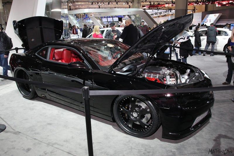 Camaro Drag Racer