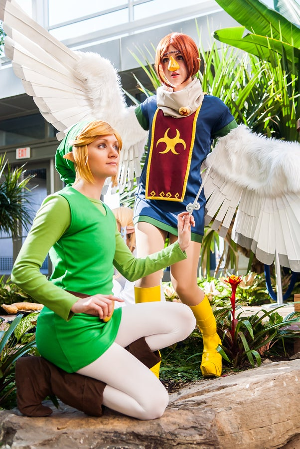 The Best Of Last Week's Cosplay: Hitman, Dark Link, Mononoke & Freakin' Wind Waker