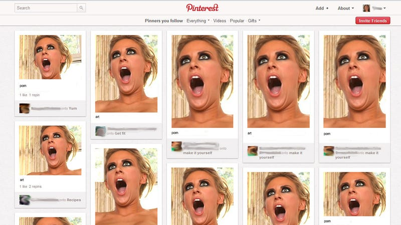 Pinterest Embraces Its Porn Problem, Artistically
