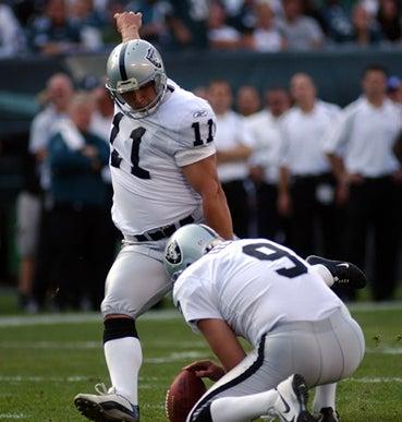 "Raiders Taking ""Football"" Literally"