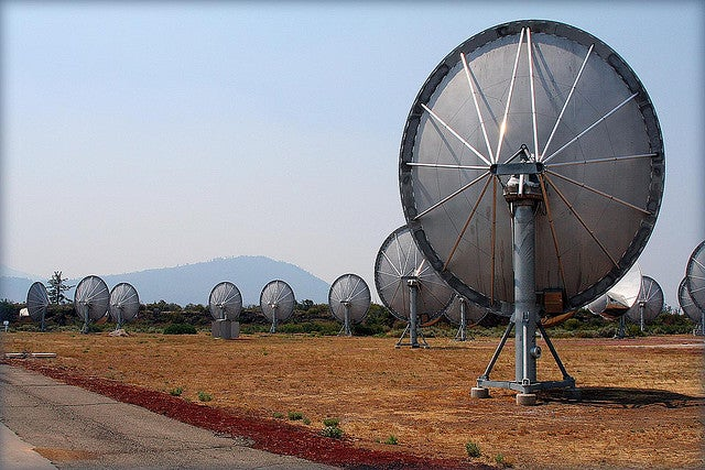 Is SETI at risk of downloading a malicious virus from outer space?