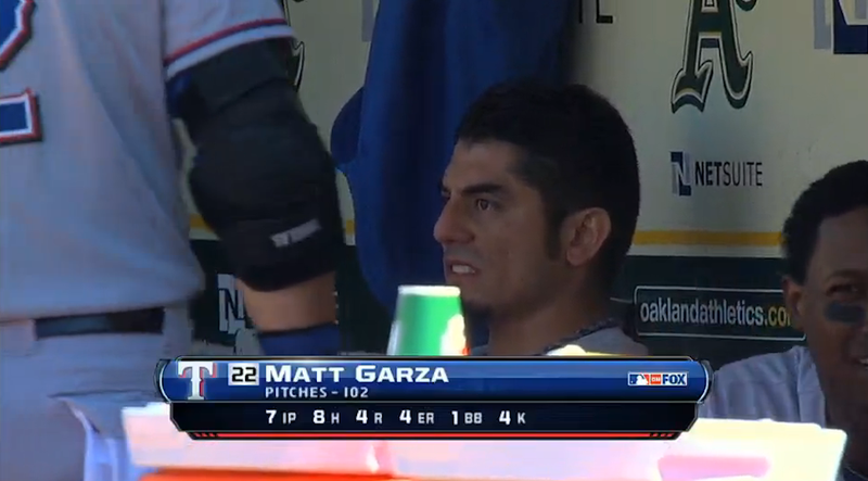 Matt Garza Went On A Misogynistic Rant Because Of A Squeeze Play