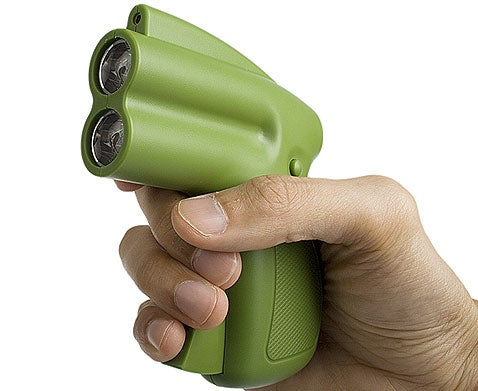 LED/Laser Flashlight: You Want Power? Talk to the Hand