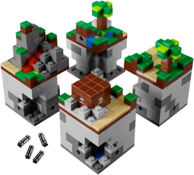 Minecraft Micro World Debuts At LEGO World Copenhagen, Shipping Summer 2012